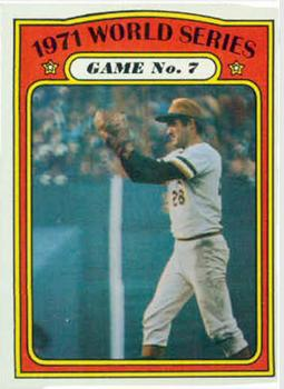 1972 Topps #229 World Series Game 7/Steve Blass
