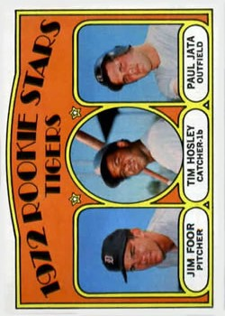 1972 Topps #257 Rookie Stars/Jim Foor RC/Tim Hosley RC/Paul Jata RC