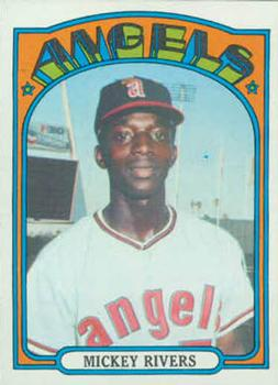 1972 Topps #272 Mickey Rivers RC