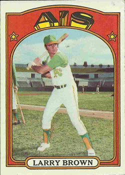 1972 Topps #279 Larry Brown