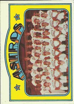 1972 Topps #282 Houston Astros TC