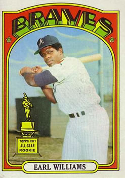1972 Topps #380 Earl Williams