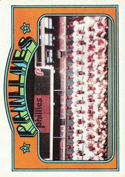1972 Topps #397 Philadelphia Phillies TC