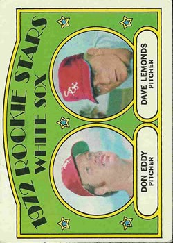 1972 Topps #413 Rookie Stars/Don Eddy RC/Dave Lemonds