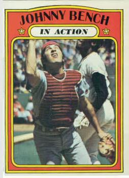 1972 Topps #434 Johnny Bench IA