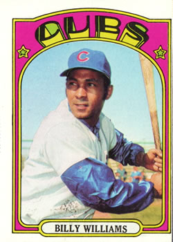 1972 Topps #439 Billy Williams