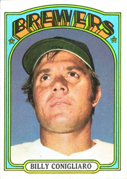 1972 Topps #481 Billy Conigliaro