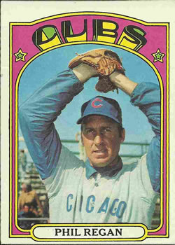 1972 Topps #485 Phil Regan
