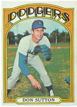 1972 Topps #530 Don Sutton