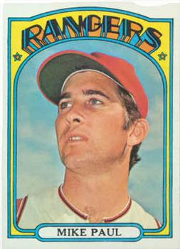 1972 Topps #577 Mike Paul
