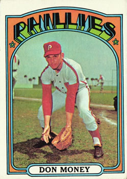 1972 Topps #635 Don Money