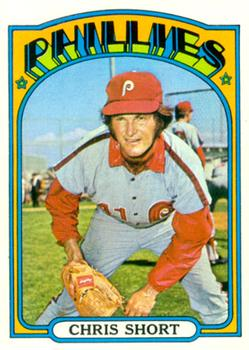 1972 Topps #665 Chris Short