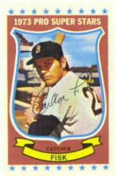 1973 Kellogg's #27 Carlton Fisk
