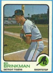 1973 Topps #5 Ed Brinkman