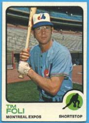 1973 Topps #19 Tim Foli