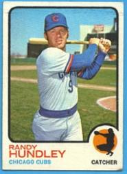 1973 Topps #21 Randy Hundley
