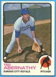 1973 Topps #22 Ted Abernathy