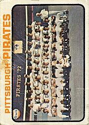 1973 Topps #26 Pittsburgh Pirates TC