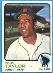 1973 Topps #29 Tony Taylor