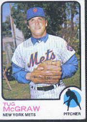 1973 Topps #30 Tug McGraw