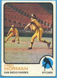 1973 Topps #32 Fred Norman