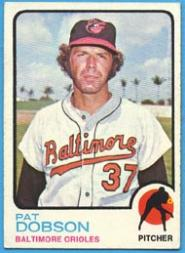 1973 Topps #34 Pat Dobson