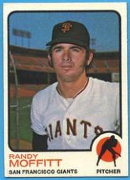 1973 Topps #43 Randy Moffitt RC