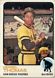 1973 Topps #57 Derrel Thomas