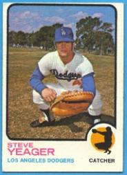 1973 Topps #59 Steve Yeager RC