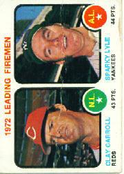 1973 Topps #68 Leading Firemen/Clay Carroll/Sparky Lyle