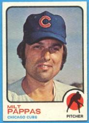 1973 Topps #70 Milt Pappas