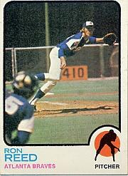 1973 Topps #72 Ron Reed