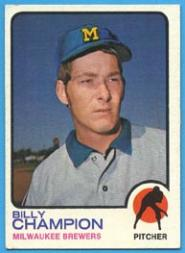 1973 Topps #74 Billy Champion