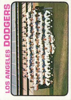 1973 Topps #91 Los Angeles Dodgers TC
