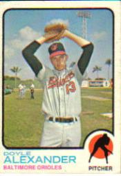 1973 Topps #109 Doyle Alexander