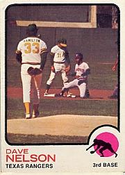 1973 Topps #111 Dave Nelson