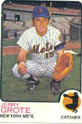 1973 Topps #113 Jerry Grote
