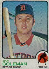 1973 Topps #120 Joe Coleman