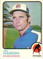 1973 Topps #124 Jim Hardin
