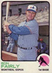 1973 Topps #125 Ron Fairly