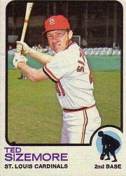 1973 Topps #128 Ted Sizemore