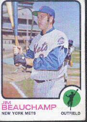 1973 Topps #137 Jim Beauchamp