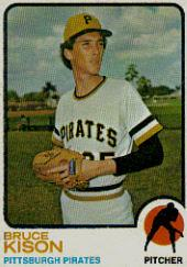 1973 Topps #141 Bruce Kison