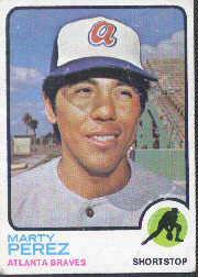 1973 Topps #144 Marty Perez