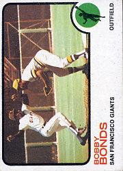 1973 Topps #145 Bobby Bonds