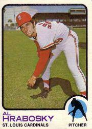 1973 Topps #153 Al Hrabosky