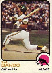 1973 Topps #155 Sal Bando