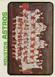1973 Topps #158 Houston Astros TC