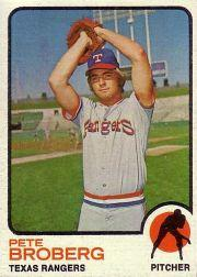 1973 Topps #162 Pete Broberg