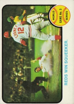 1973 Topps #205 World Series Game 3/Tony Perez